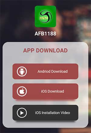 Download AFB88 Android Step 2